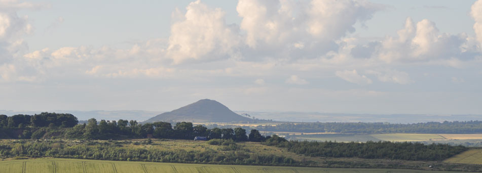 North Berwick Law from White Castle, East Lothian