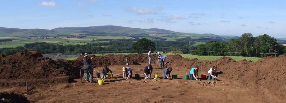Sheriffside excavations, East Lothian
